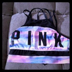 Pink Sportswear for training